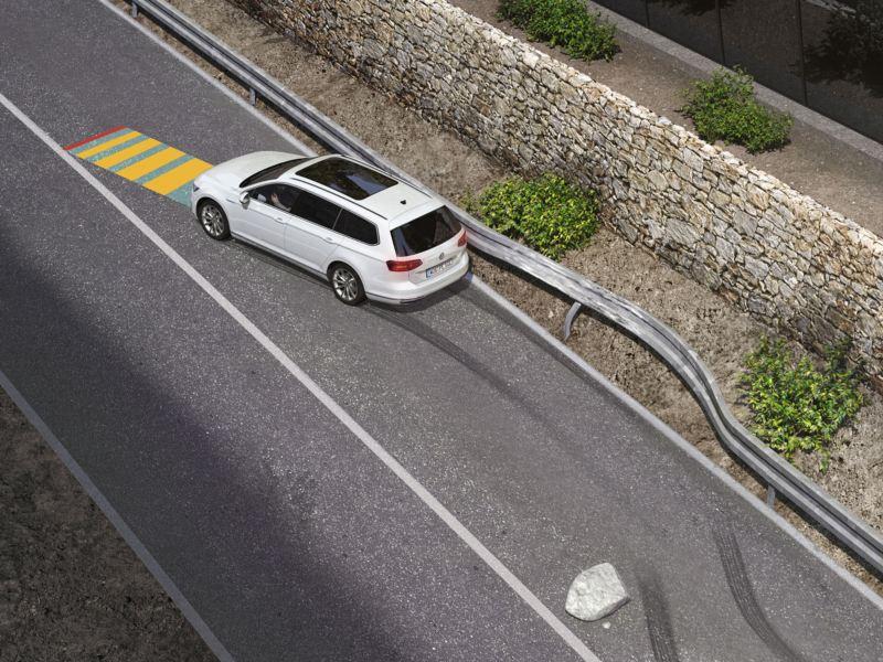 Gráfico del asistente para emergencias Volkswagen Passat Variant