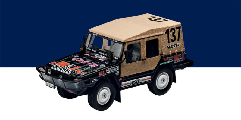 Modellino Volkswagen Race Iltis