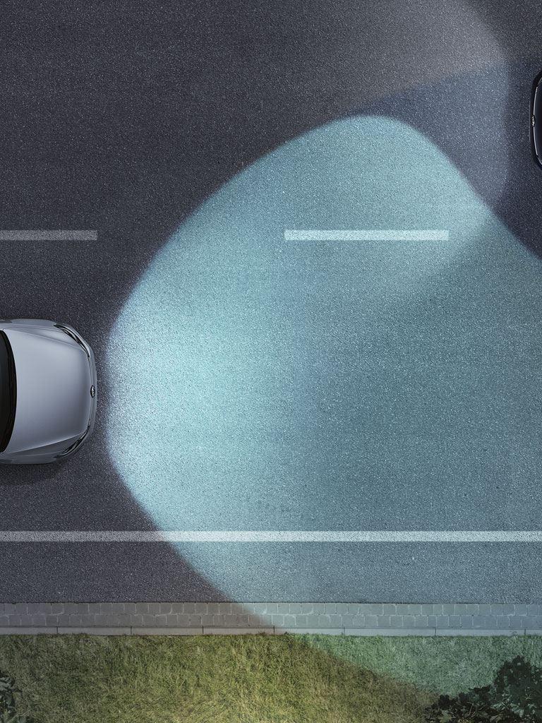 Volkswagen Golf GTI asistente dinámico de luz