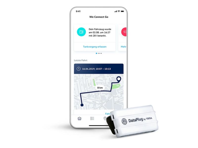We Connect Go App und DataPlug
