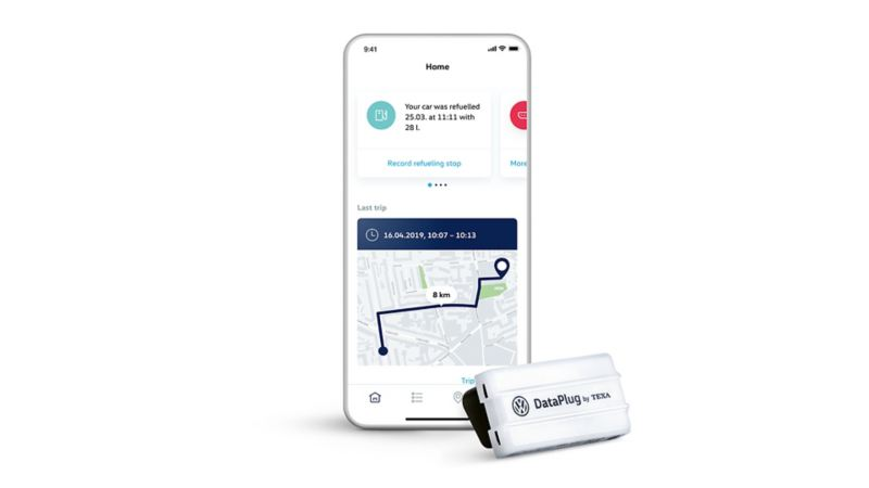 We Connect Go App y Dataplug