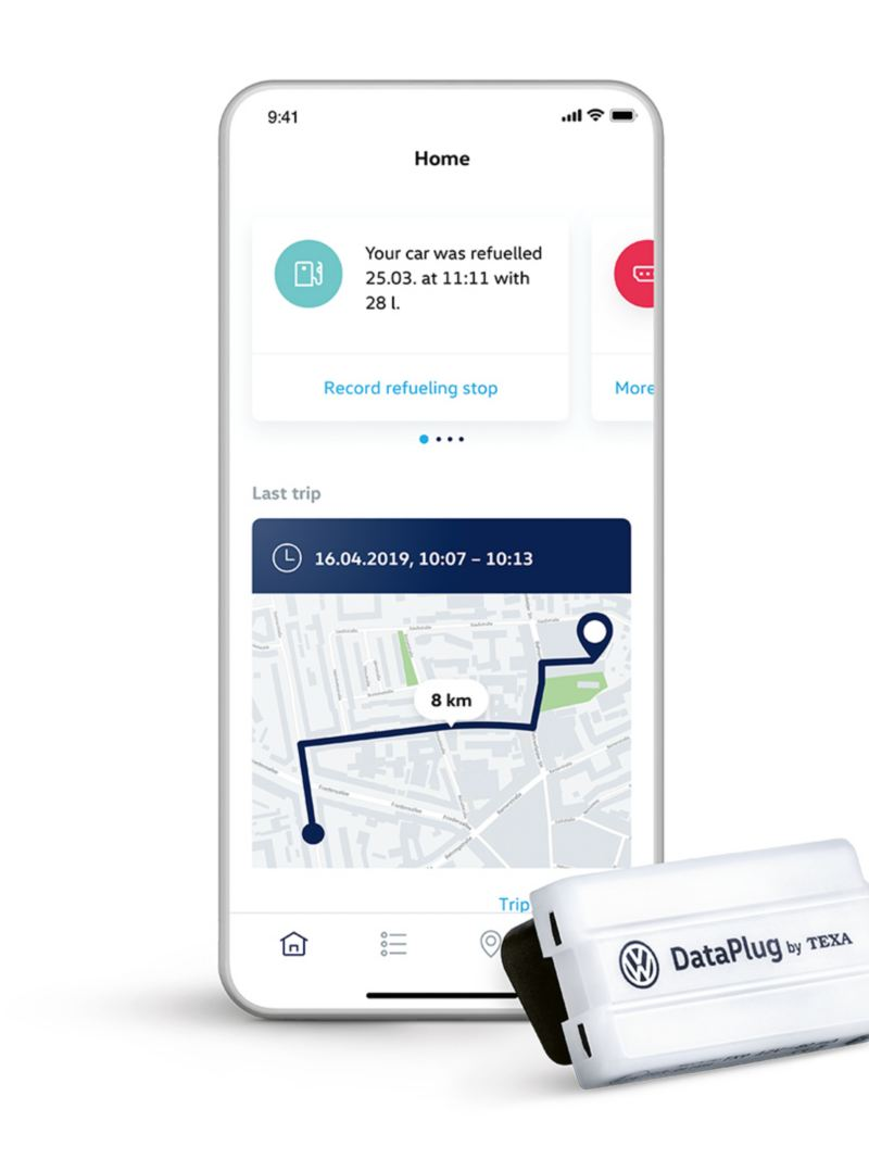 We Connect Go App y Dataplug