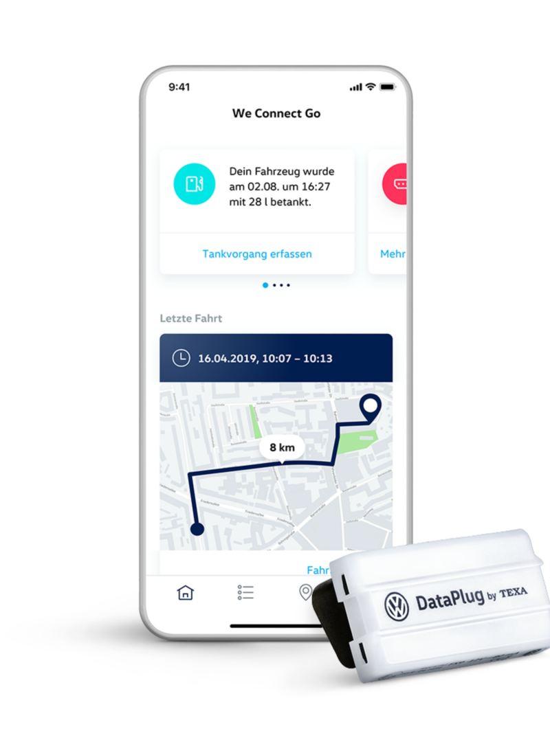 We Connect Go App und Dataplug