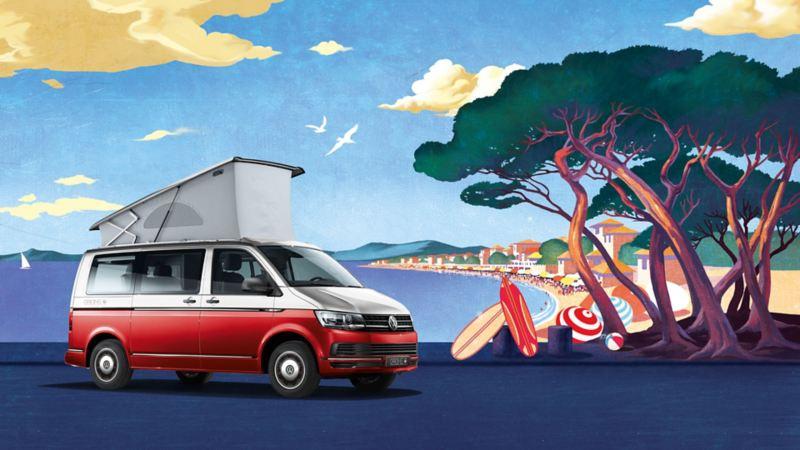 Volkswagen Utilitaires California Origins peinture