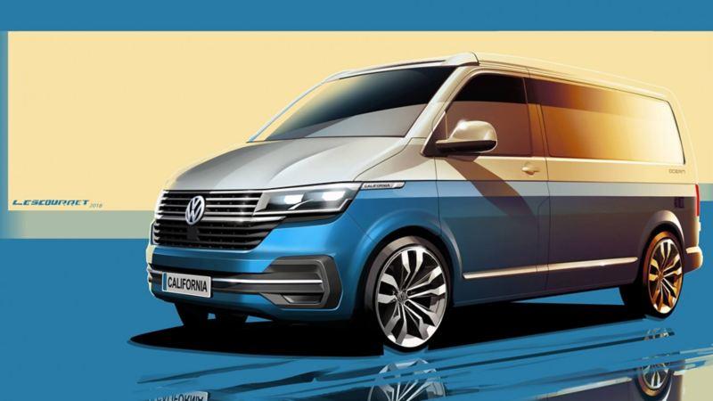Volkswagen Bedrijfswagens onthult eerste details California 6.1