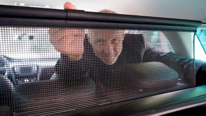 Volkswagen bagasjenetting for sikring av bil
