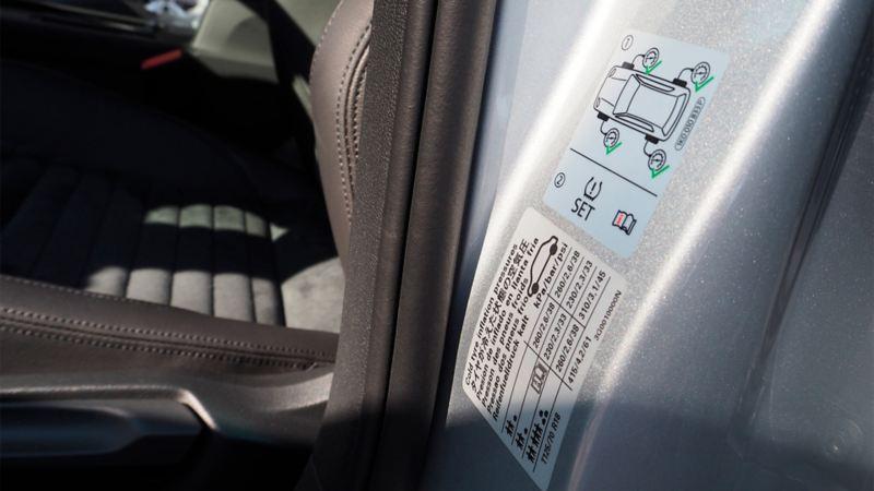 Sjekk lufttrykket når du pakker bilen