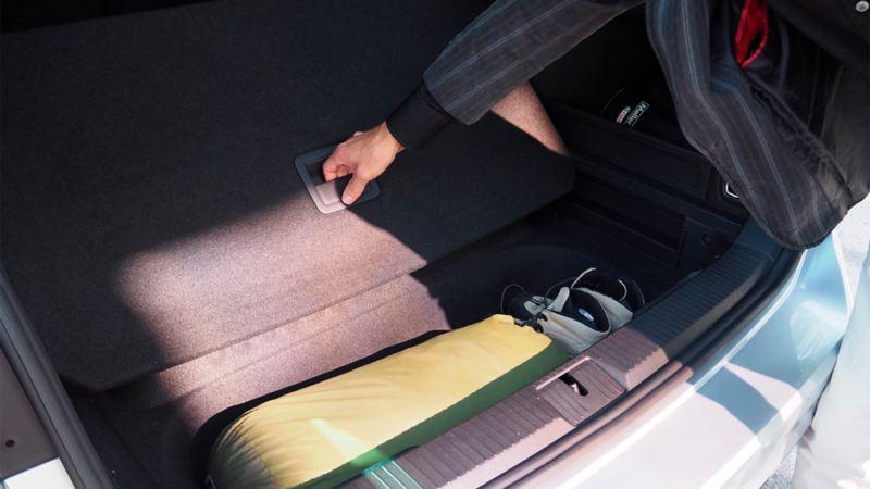 Volkswagen oppbevaring ved pakking