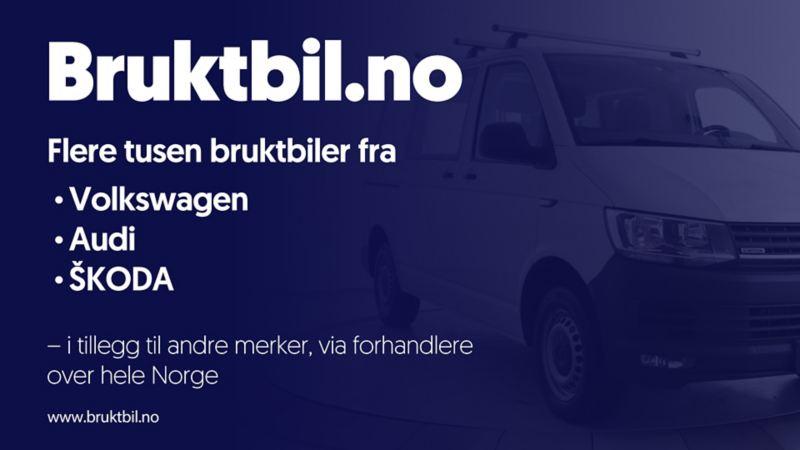 Kjøp brukt vw Volkswagen varebil på bruktbil.no bruktbil bruktbilkjøp bruktbilforhandler Transporter Caddy Crafter Amarok e-Crafter Caravelle Multivan