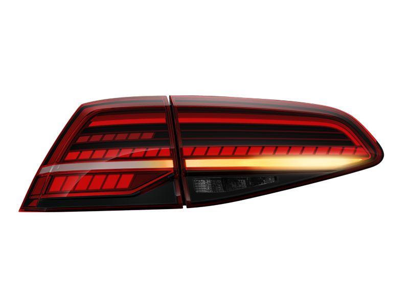 Dinamik arka sinyal lambaları ile Golf LED stop lambaları