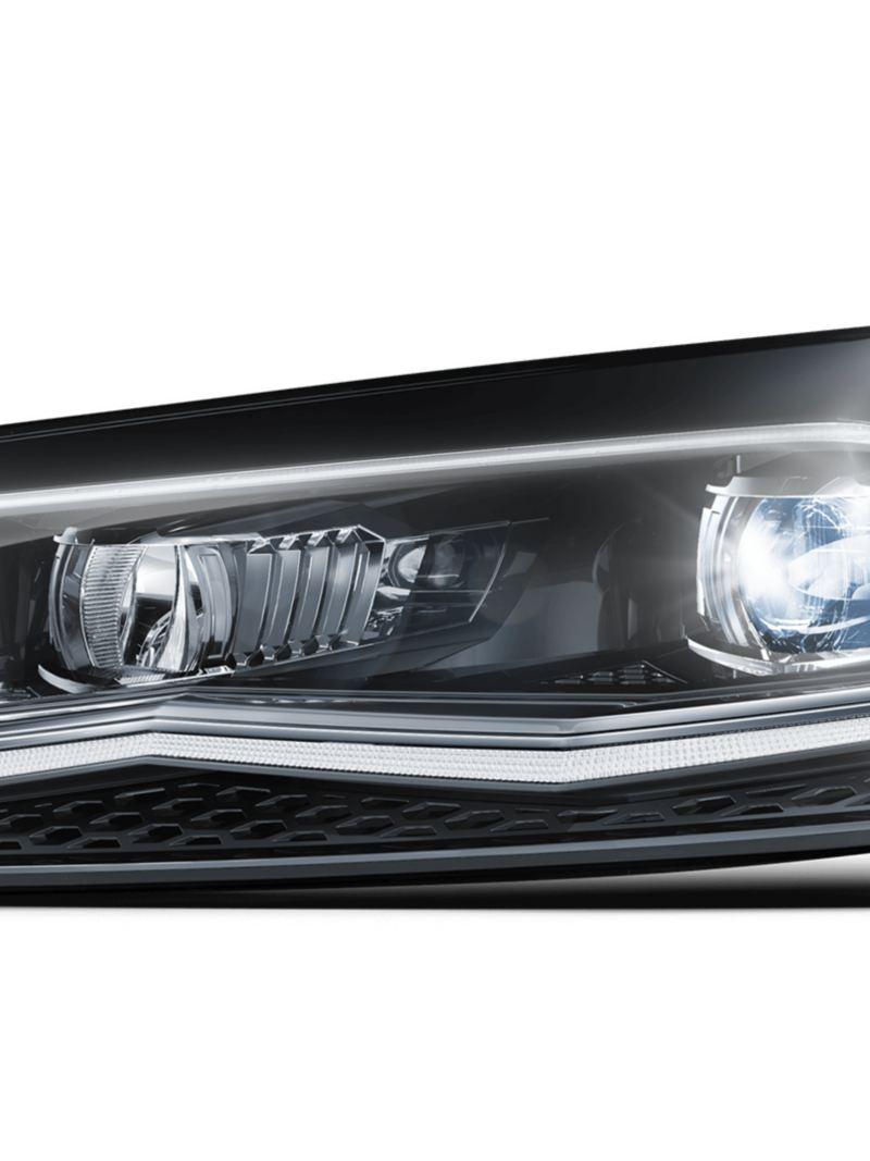 Göz alıcı Polo LED farlar ile doğru aydınlatma