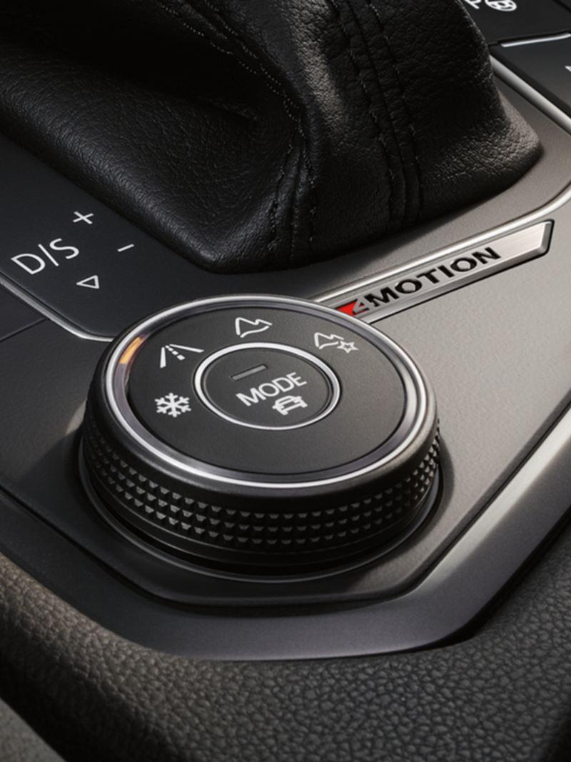 Tiguan 4Motion Active Control elektronik sürüş profili