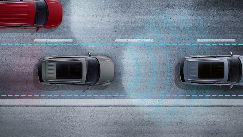 Volkswagen Trafikte Sürüş Asistanı