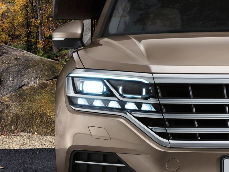 Touareg LED Matrix Farlar