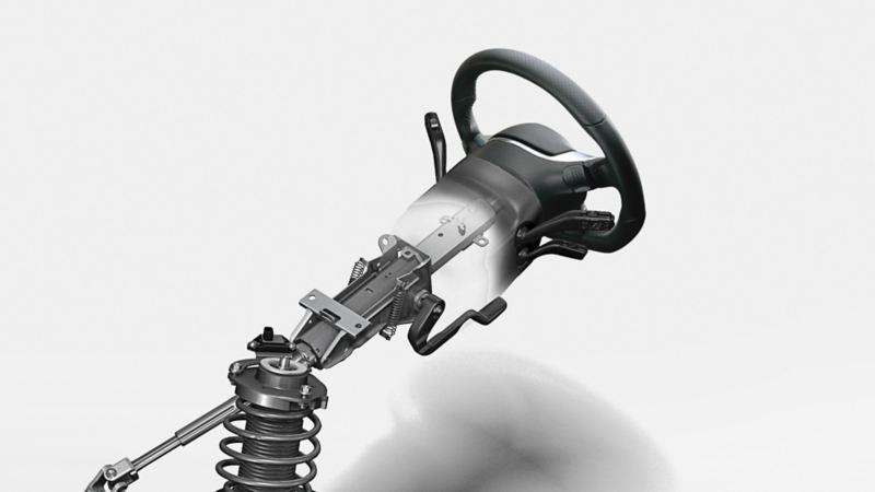 Volkswagen Güvenli Direksiyon Kolonu