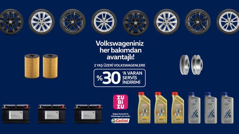 Volkswagen Zubizu Servis İndirimi Kampanyası