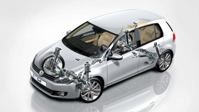 Volkswagen Yürür Aksam