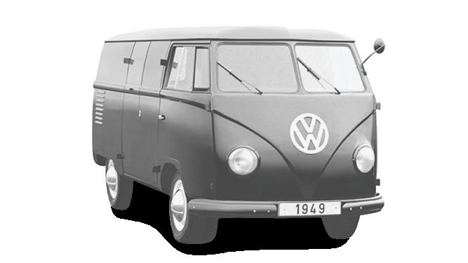 Prototyp Volkswagen Bulli (1949).