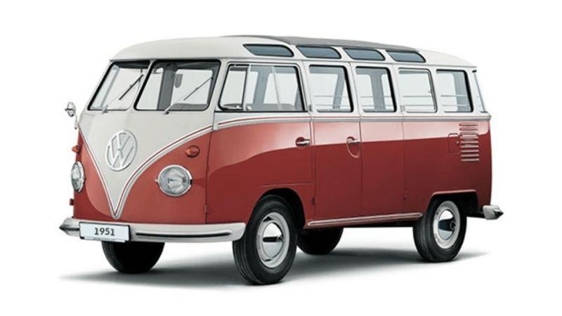 Volkswagen Samba-Bus (1951).