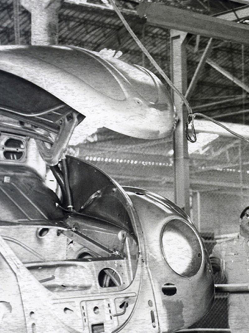 Creación de la Compañía Volkswagen Mexicana en 1954