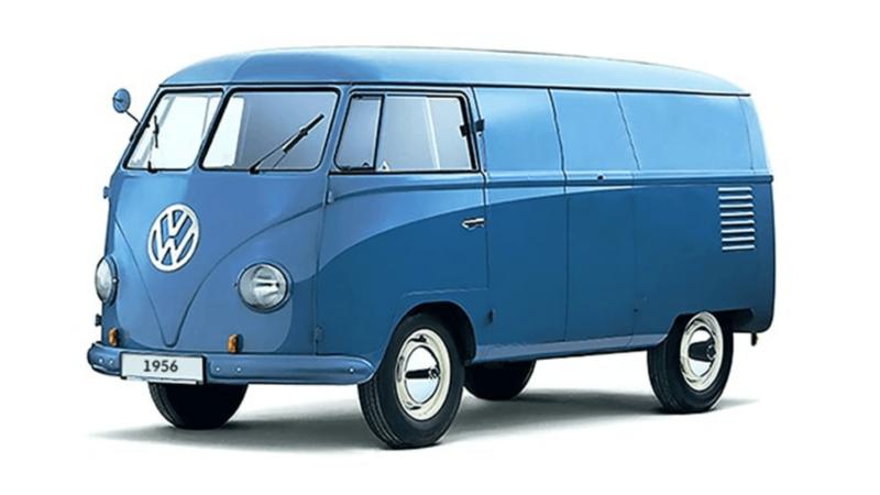 Volkswagen T1 Transporter (1956).