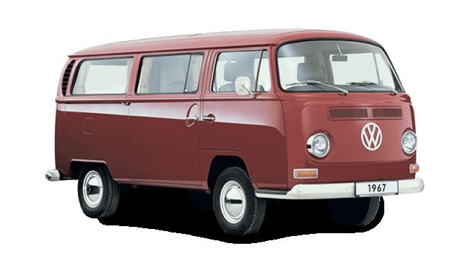 Volkswagen T2 Transporter (1967).
