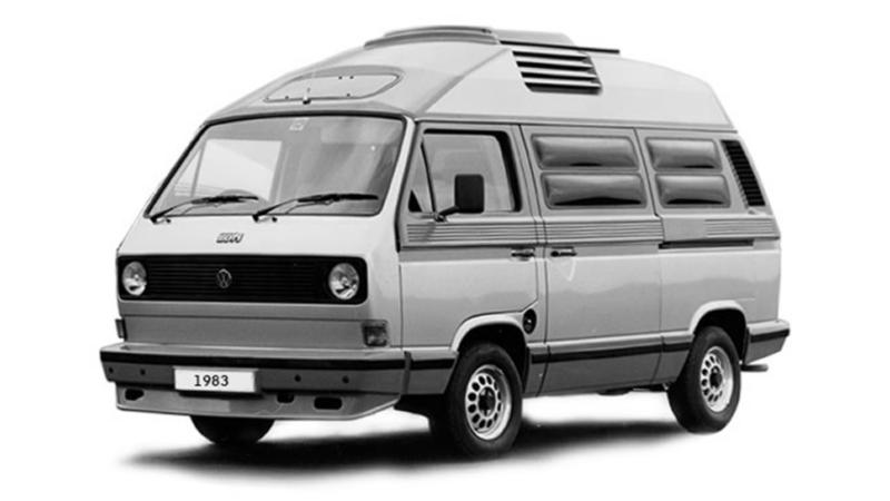 Volkswagen Caravelle (1983).