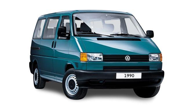 Volkswagen T4 Transporter (1990).
