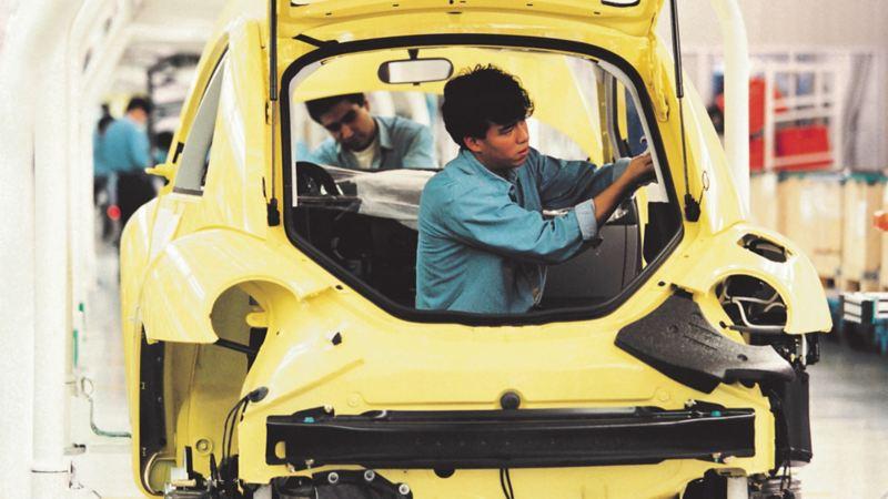New Beetle fue producido exclusivamente en México en 1997