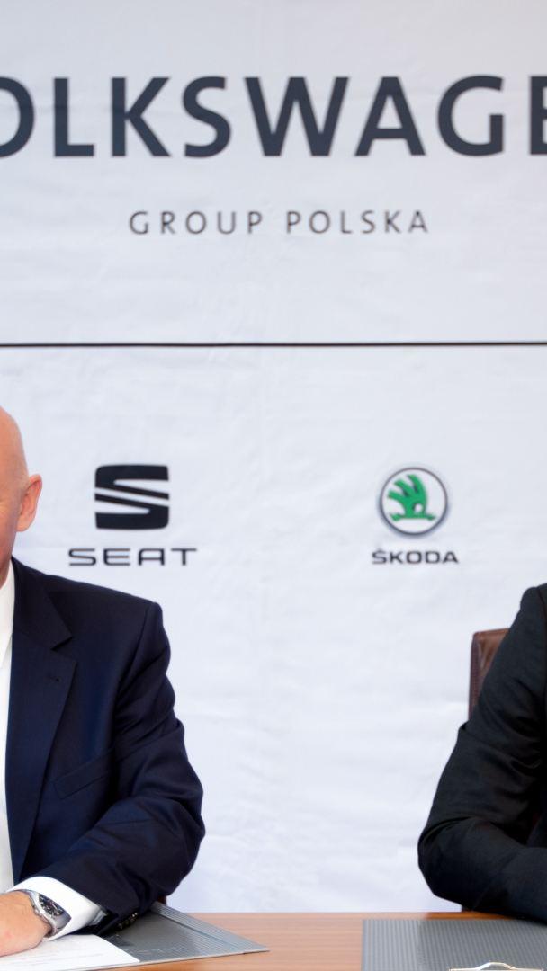 Volkswagen Group Polska wraz z ENGIE Technika Instalacyjna rozwijają elektromobilność