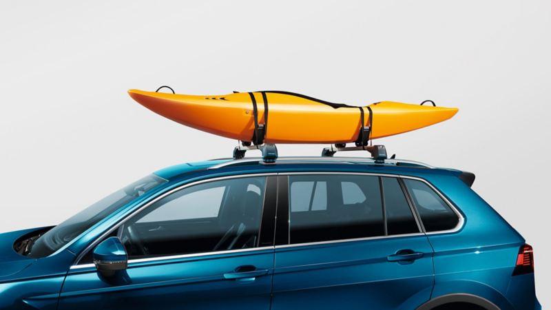 Kayak holder for takstativ til Volkswagen VW Tiguan SUV