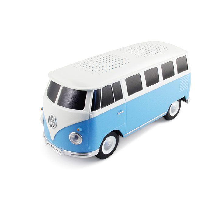 Bocina portátil con Bluethooth con forma de Combi disponible en VW Collection
