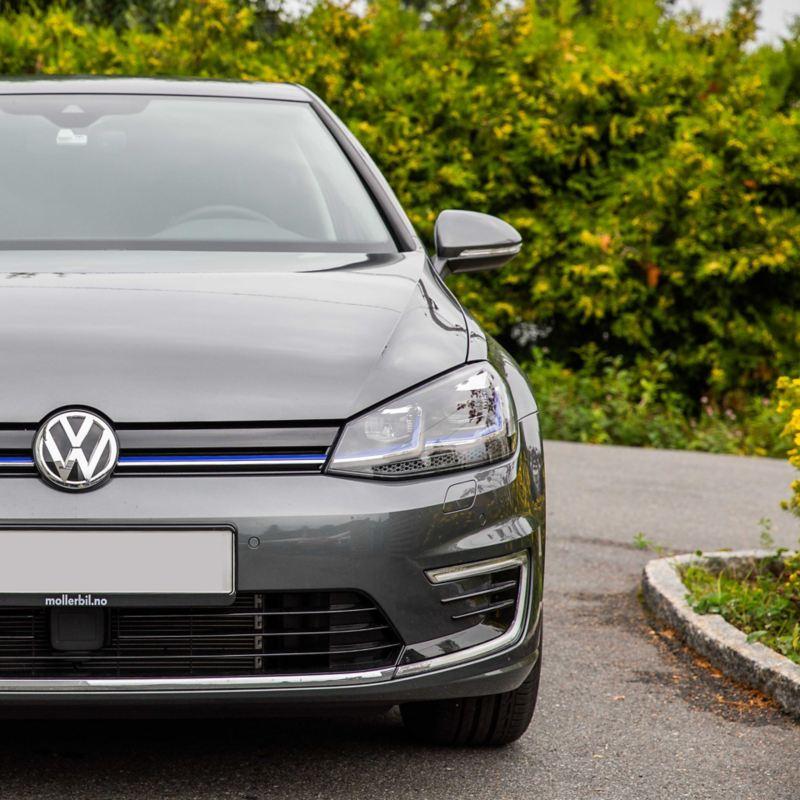 Volkswagen VW e-Golf elbil lakkbeskyttelse til bil