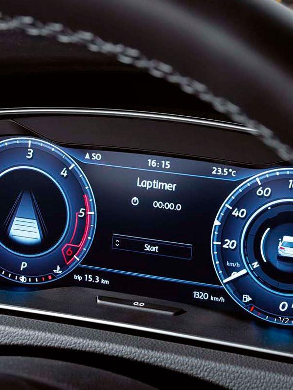 Digital Cockpit del Volkswagen Golf