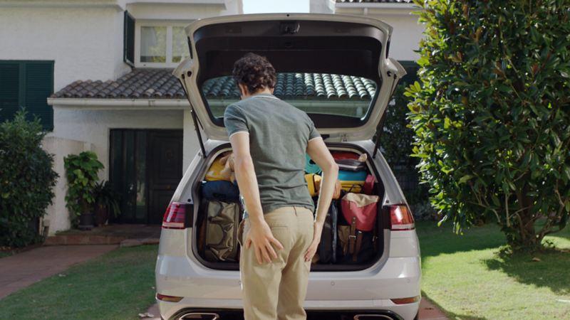 Golf Variant bagażnik