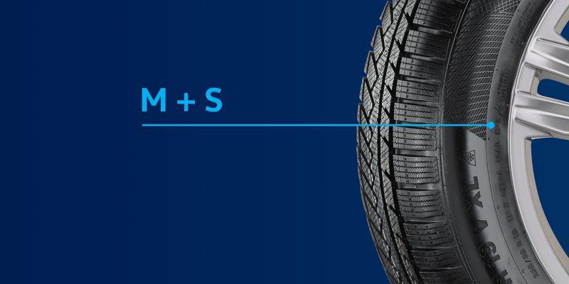 Indicazione M+S pneumatici Volkswagen