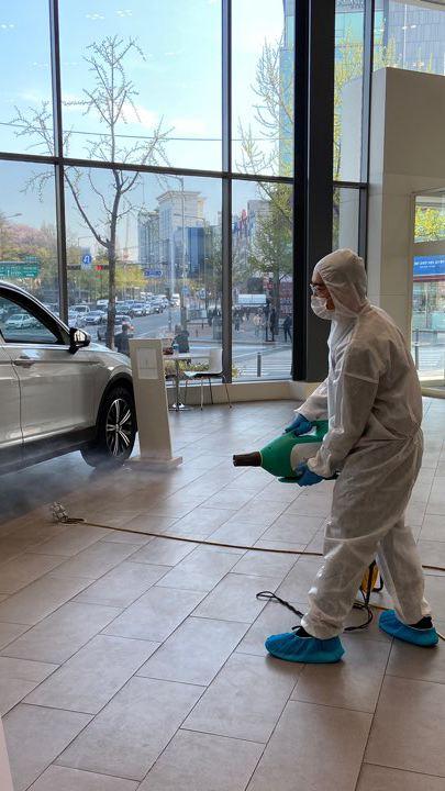 폭스바겐코리아, 코로나 19 장기화 대비 전국 공식 딜러 대상 소독 강화, 특별 향기 서비스 진행