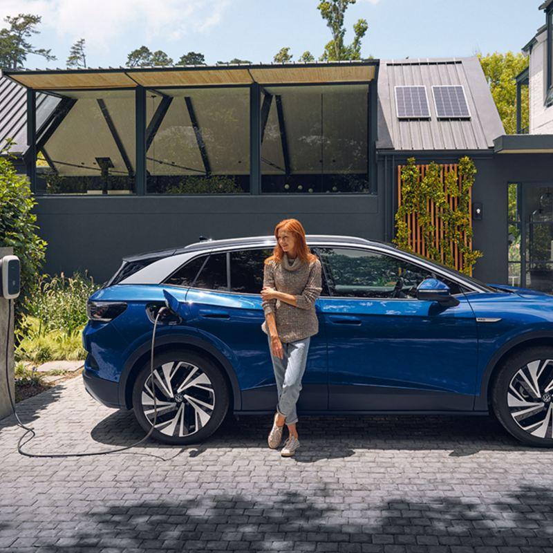 Helt elektriska bilar från Volkswagen