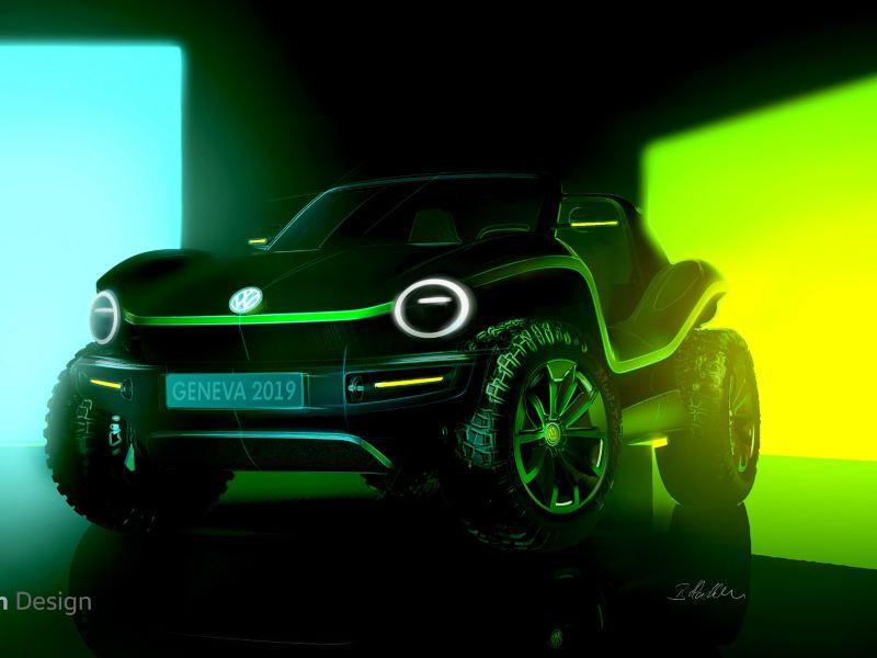 폭스바겐, 2019제네바 모터쇼에서 버기(Buggy)를 모델로 한 순수 전기 컨셉카 세계 최초 공개