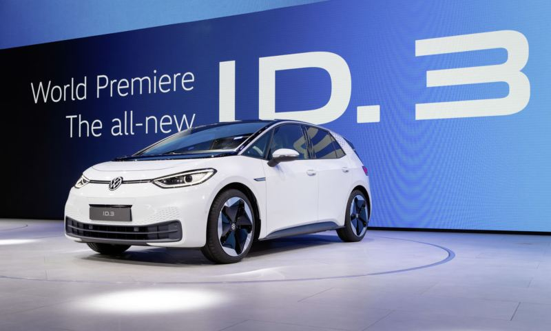 폭스바겐, 2019 프랑크푸르트모터쇼에서 ID. 3 세계 최초 공개와 함께 전기차 시대 본격 진입 선언