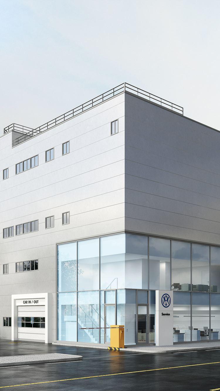 폭스바겐 공식딜러 아우토플라츠, 하남 서비스센터 신규 오픈