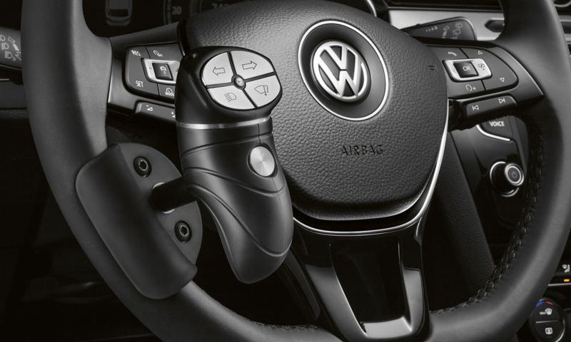 Volkswagen Fahrhilfen für Menschen mit Handicap, Multifunktions-Drehknauf