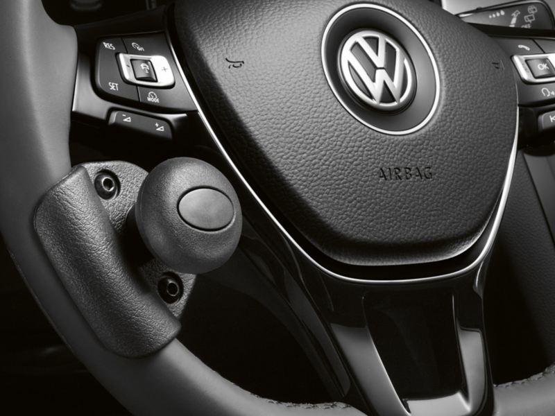 Volkswagen Fahrhilfen für Menschen mit Handicap, Drehknauf