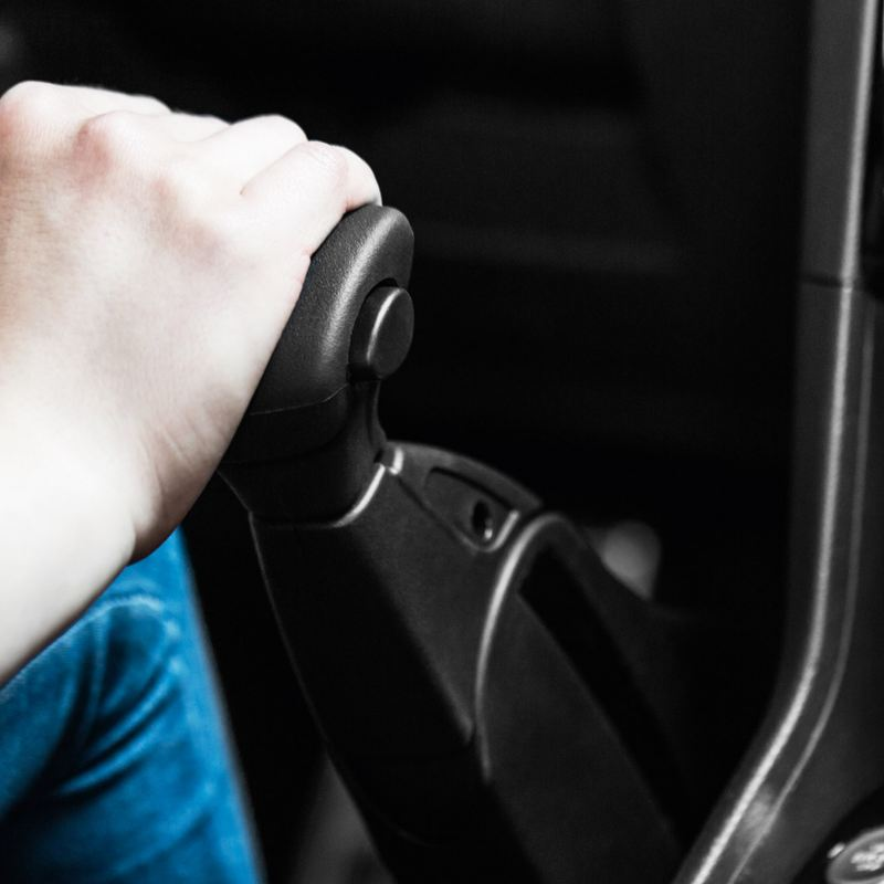 Volkswagen Fahrhilfen für Menschen mit Handicap, Handbediengeräte und Pedalabdeckung