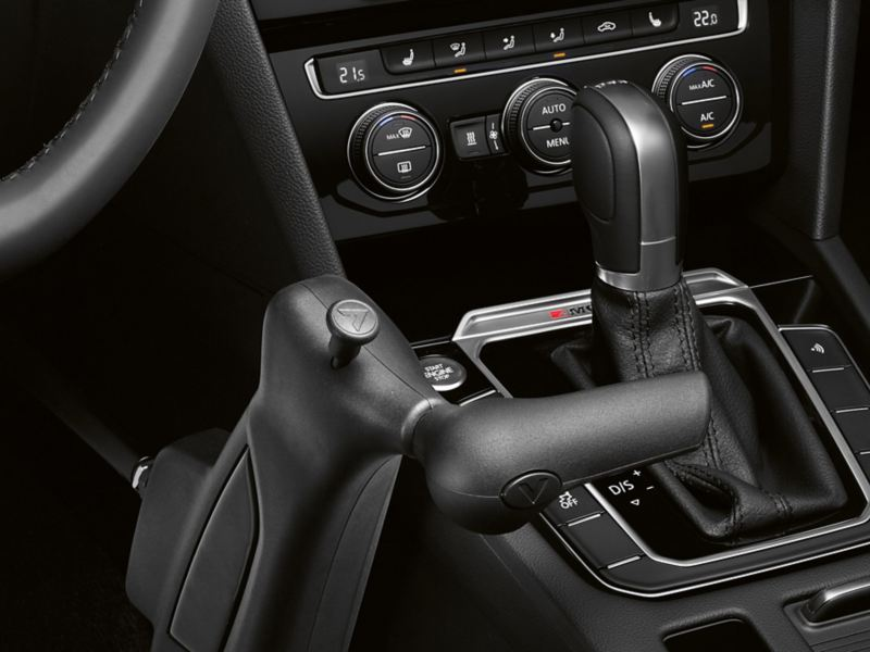 """Volkswagen Fahrhilfen für Menschen mit Handicap, Handbediengerät """"Classic"""""""
