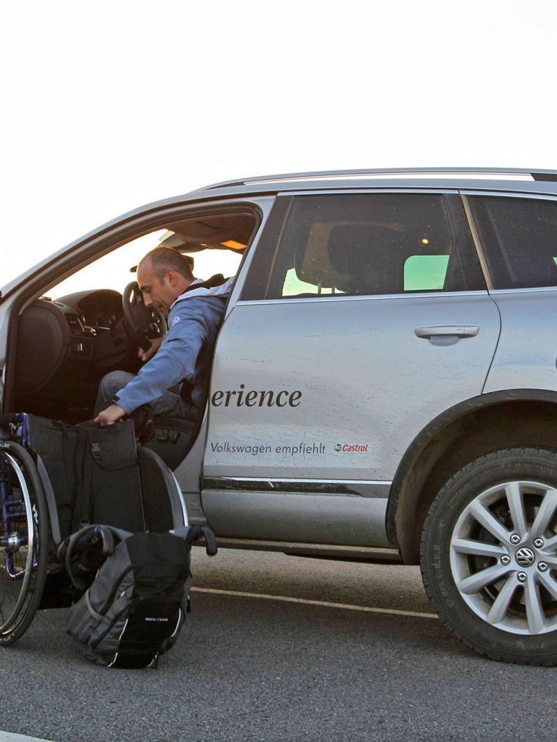 Volkswagen Fahrhilfen für Menschen mit Handicap, Island Experience