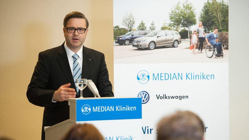 Volkswagen Fahrhilfen für Menschen mit Handicap, MEDIAN Kliniken