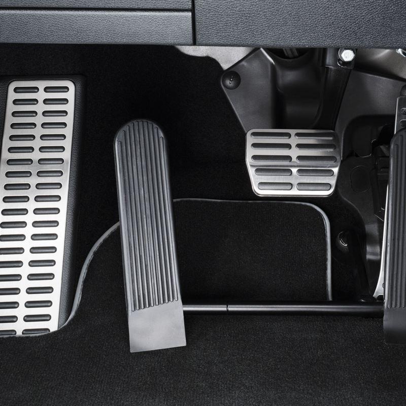 Volkswagen Fahrhilfen für Menschen mit Handicap, Linksgas und elektronisches Linksgas