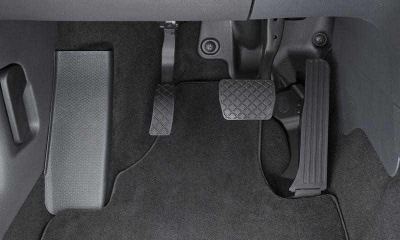 Volkswagen Fahrhilfen für Menschen mit Handicap, Elektronisches Linksgas