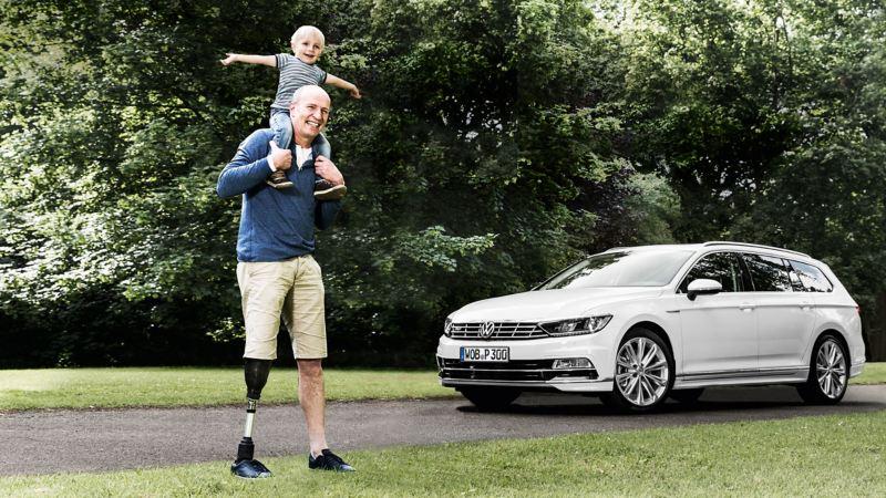 Volkswagen Fahrhilfen für Menschen mit Handicap, Carsten